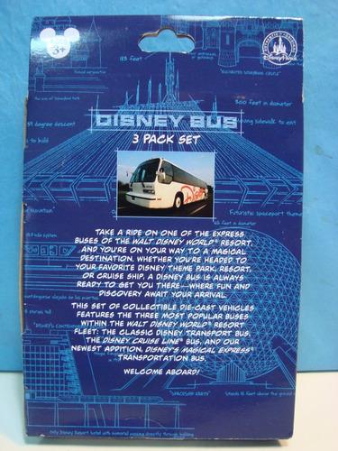 disney store  bus colectivo pack x 3 expreso magico
