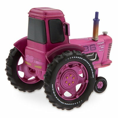 Disney Store Cars 3 Die Cast Collector Case Box Tank Coat Pink Tractor 1:43 NEW