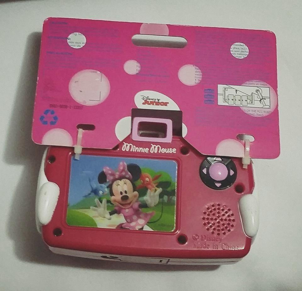 Disney Store C Mera De Brinquedo Minnie Mouse R 54 90 Em  ~ Cozinha Da Minnie De Verdade