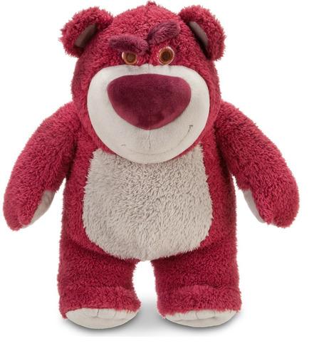 disney store oso peluche lotso 30 cm huele fresas toy story