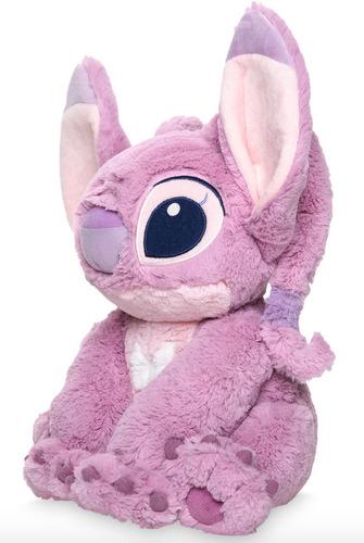 disney store peluche angel rosa lilo & stitch 100% original