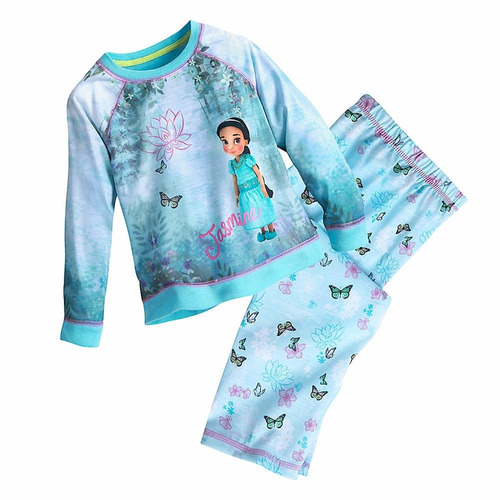 disney store pijama princesa animator jasmin aladino t6 t8