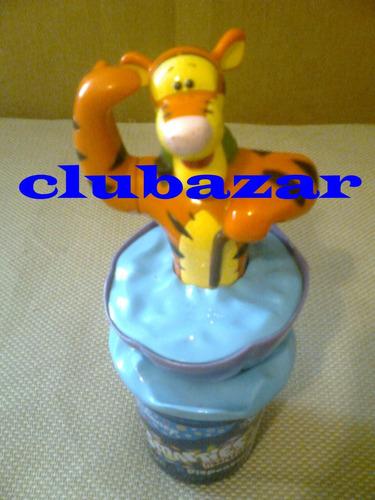 disney tigre dispensador original aleman chocolates con vaso