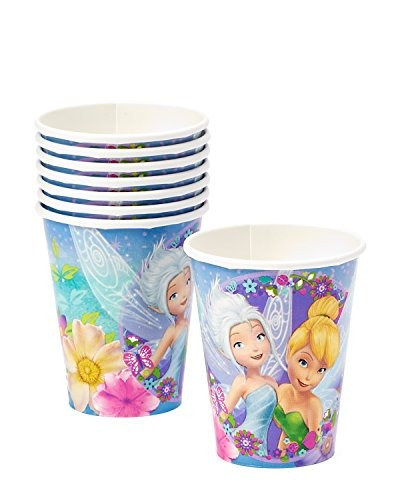 disney tinkerbell impreso copas birthday party vasos desech