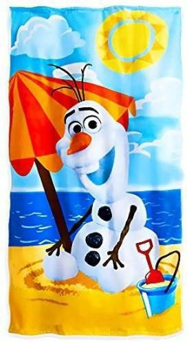 disney - toalla de playa olaf frozen