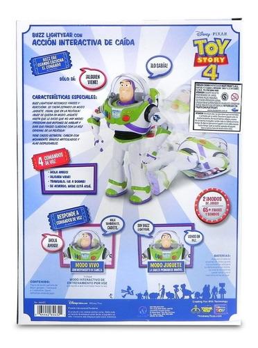 disney toy story 4 buzz lightyear interactivo orig jlt 64432