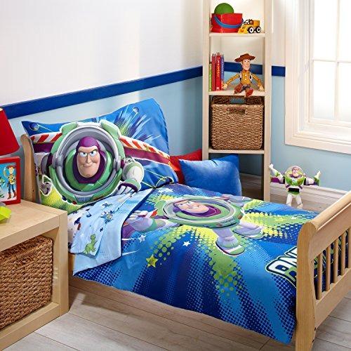 Disney Toy Story 4 Piezas De Ropa De Cama Para Niños Pequ ... 486921668a0