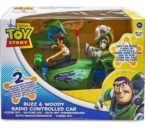 disney toy story buzz y woody carro r/c ref. 140066