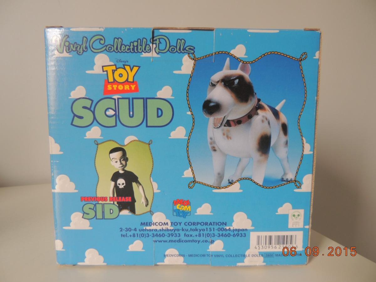 filme toy story scud disney medicom toy cao do sid r 415