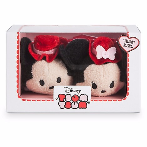 disney tsum tsum peluches mickey minnie mouse san valentín