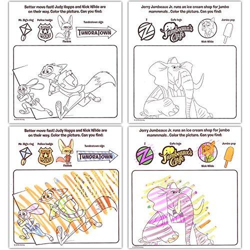 Disney Zootopia Imagine De Tinta Libro Y Paquete De Activid ...