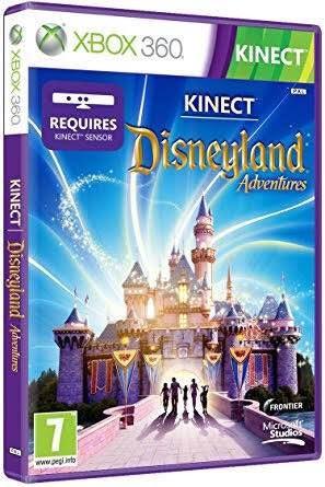 disneyland adventures xbox 360 kinect