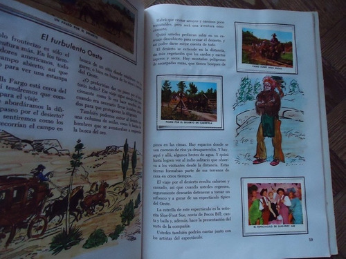 disneylandia - libro de oro de estampas - 1973