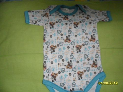 disney,pañalero manga corta p/bebe,niño 12-18meses