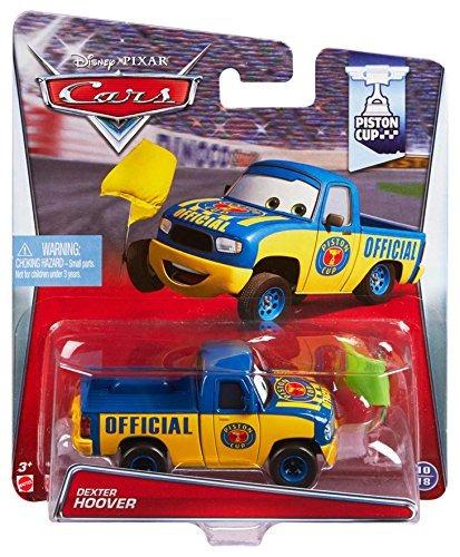 disneypixar cars dexter hoover con yellow flag diecast vehic