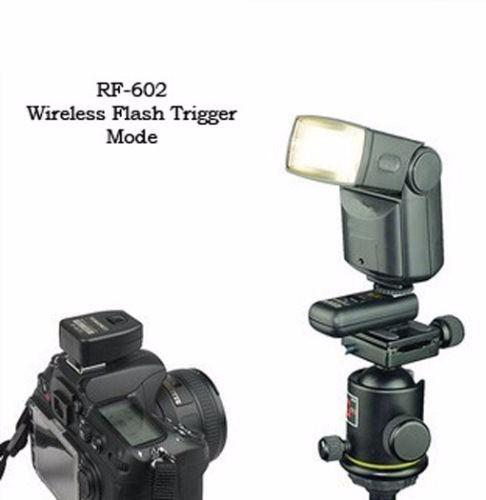 disparador inalambrico de flash yongnuo rf-602 2 receptores