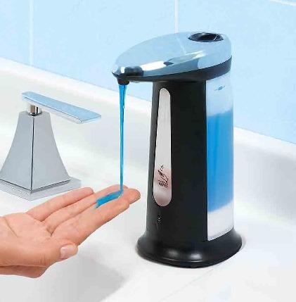 dispensa jabón automático betterware - baño limpieza manos