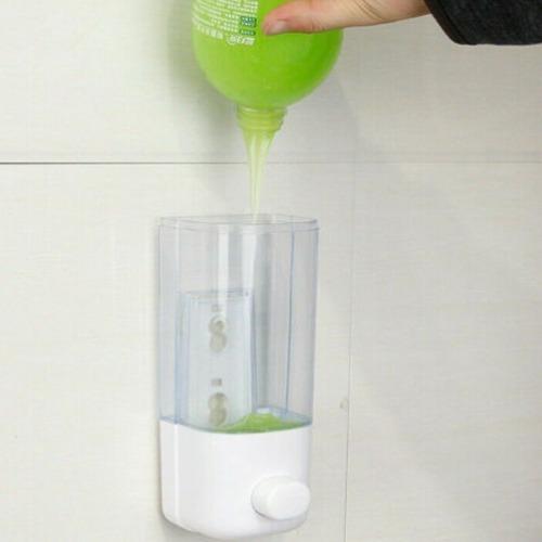 dispensador 3x1 alcohol gel desinfectante jabón 380ml