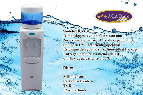 dispensador agua purificada fría y caliente