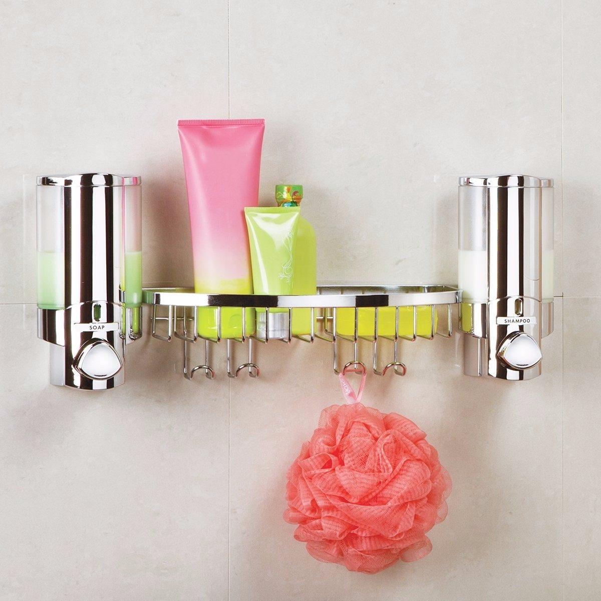 Dispensador de jabon liquido shampoo ba o accesorios for Dispensadores para banos