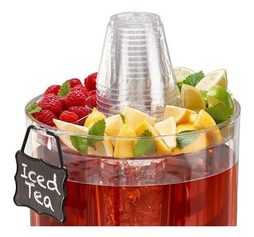 dispensador bebidas frías buddeez 1.75 galones transparente