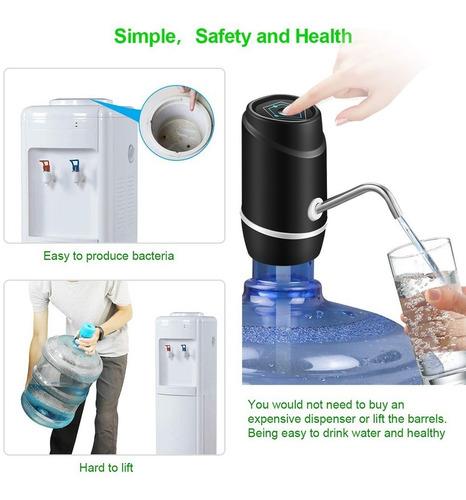 dispensador de agua automatico recargable 2tubos de silicona