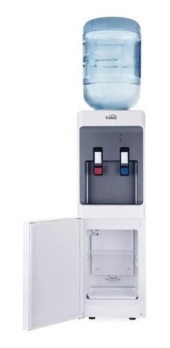 dispensador de agua caliente y fria kalley con nevera bar