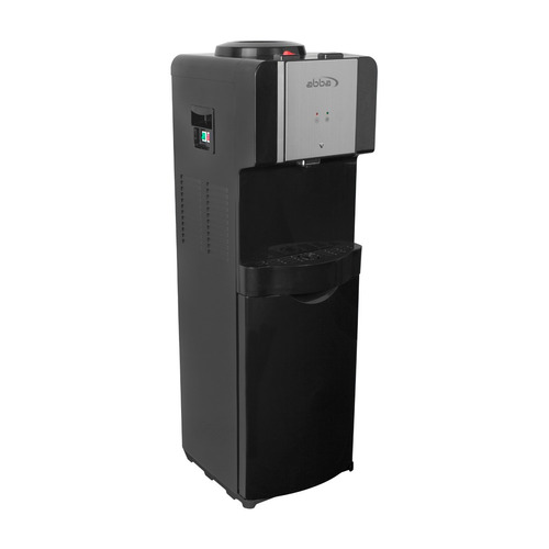 dispensador de agua con gabinete abba da1637sb n negro