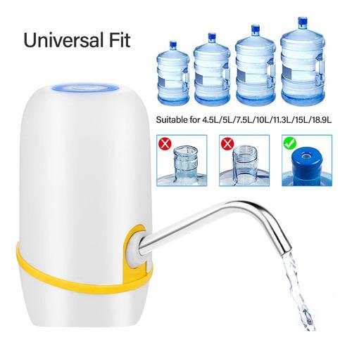 dispensador de agua eléctrica inalámbrica carga usb