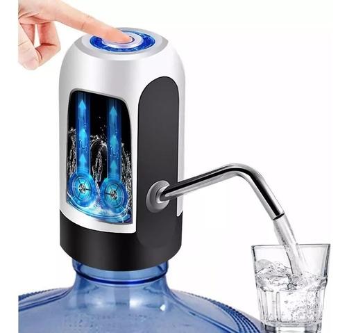 dispensador de agua electrico bomba de garrafon recargable