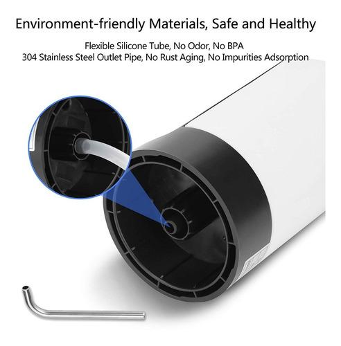 dispensador de agua eléctrico usb recargable