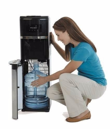dispensador de agua filtro botellon marca primo negro nuevo