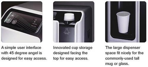 dispensador de agua fría y caliente con filtros de oi