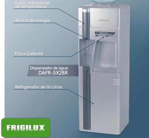 dispensador de agua frigilux con nevera nuevo en su caja
