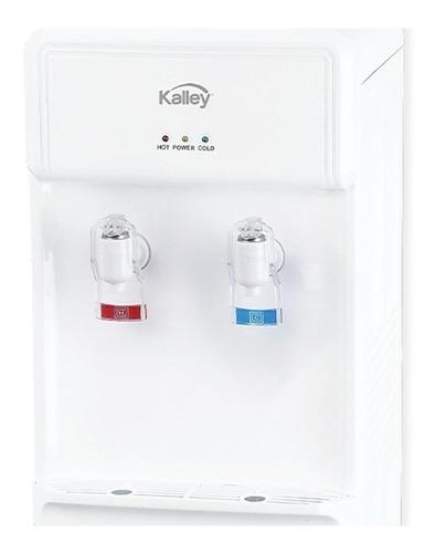 dispensador de agua kalley agua caliente y fria k-wd15c