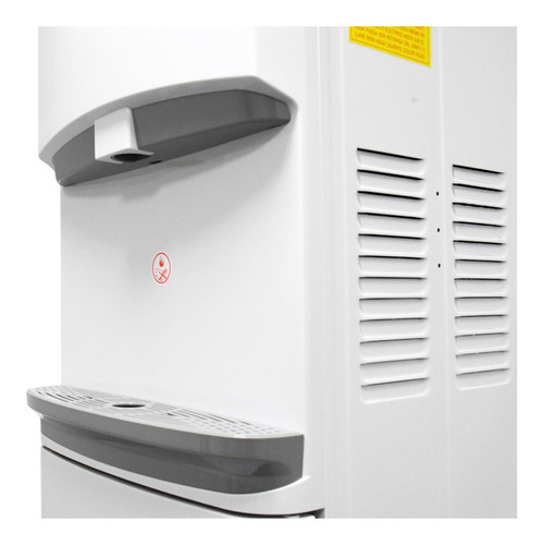 dispensador de agua midea agua fría y caliente blanco