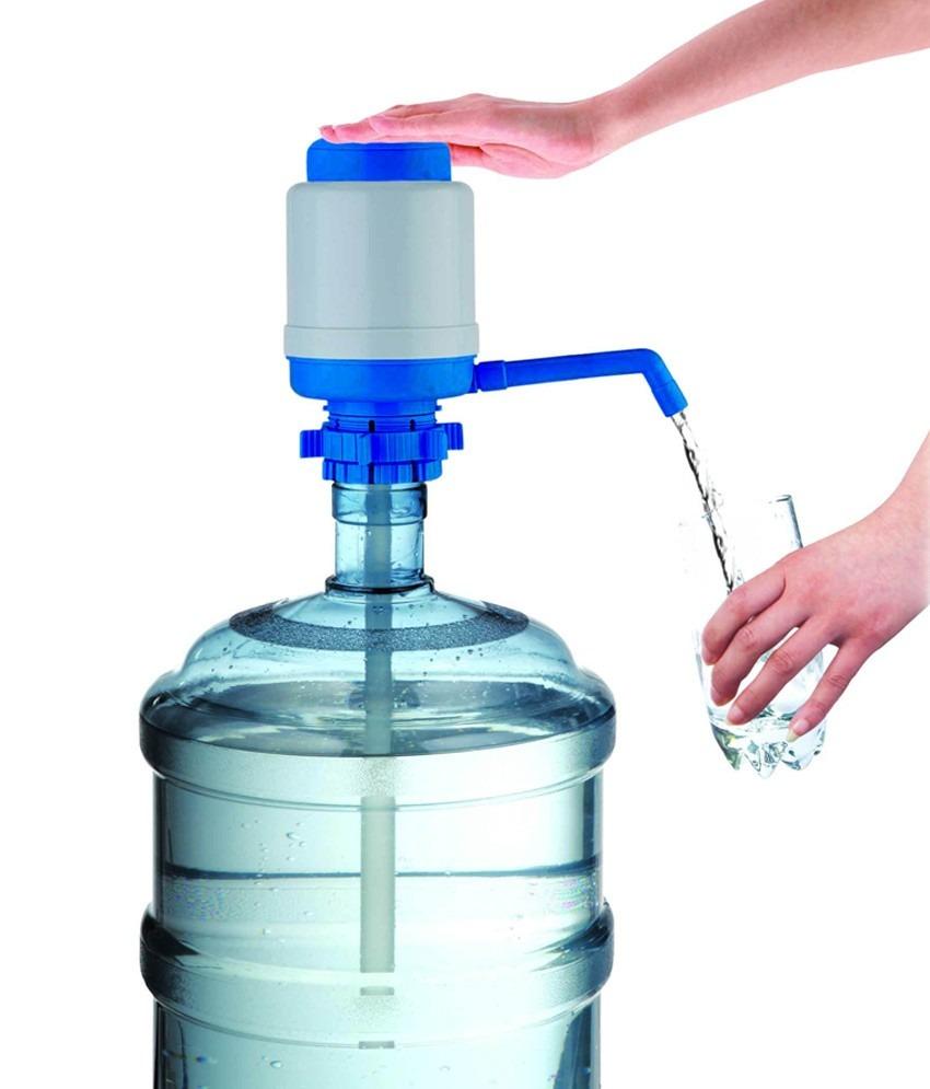 Dispensador de agua para bid n de 10 a 20 lt bomba manual for Bomba de agua manual