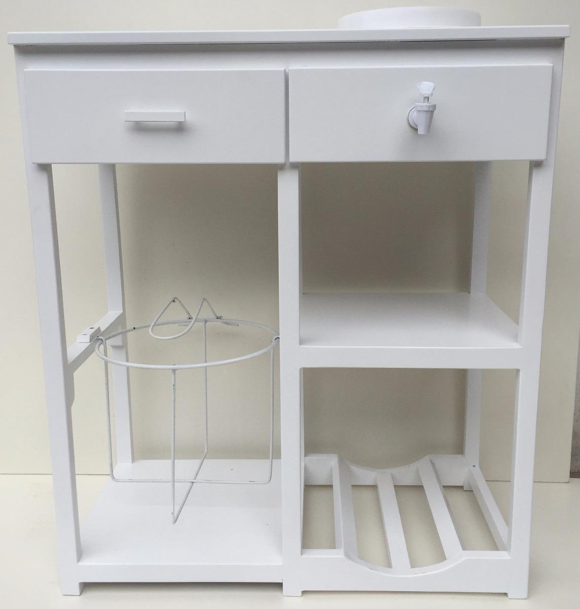 Dispensador de agua y porta garrafones 2 en for Mueble para calentador de agua