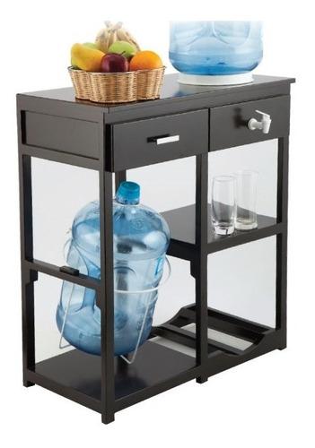 dispensador de agua y porta garrafones