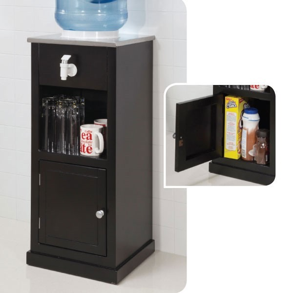 Dispensador de agua1 mueble portagarraf n almacenamiento for Dispensador agua oficina