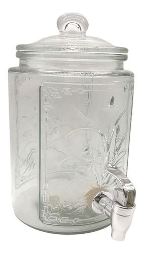 dispensador de bebidas 3,5 lt con canilla - impre$ionante