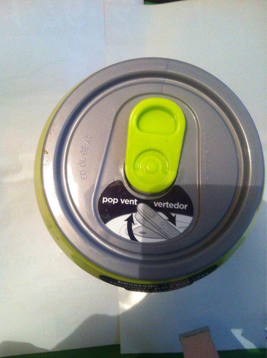 Dispensador de bebidas en forma de lata halloween 314 - Dispensador de latas ...