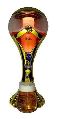 dispensador de cerveza con enfriador tipo copa del mundo