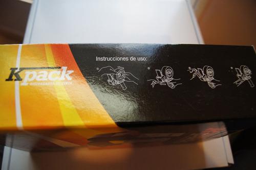 dispensador de cinta de 2   kpack kp-233 nuevo