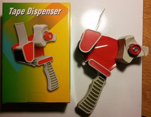 dispensador de cinta para embalaje, nuevo de los buenos