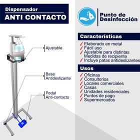 Dispensador De Gel Antibacterial - Unidad a $169000