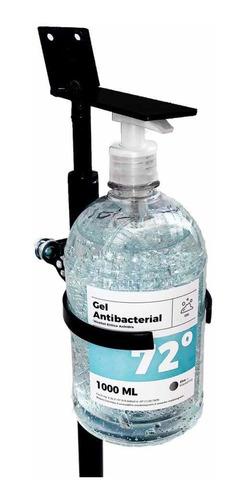 dispensador de gel con la botella de gel