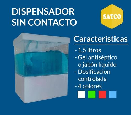 dispensador de gel jabón automatico 1500 ml sin contacto
