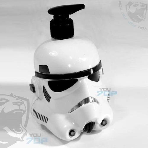 dispensador de jabon 500ml star wars recargable