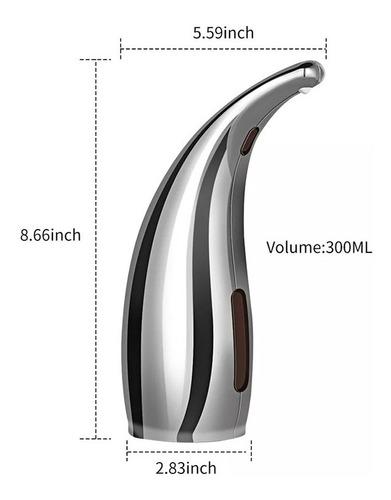 dispensador de jabón automático de 300 ml infrarrojo
